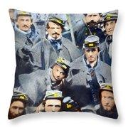 Civil War: Volunteers, 1861 Throw Pillow