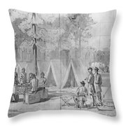 Civil War: Voting, 1864 Throw Pillow