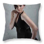 Claire3 Throw Pillow