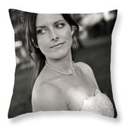 Claire4 Throw Pillow