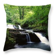 Clare Glens, Co Limerick, Ireland Irish Throw Pillow