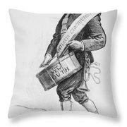 Clark Howell (1863-1936) Throw Pillow