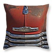 Classic 50s Chevy Throw Pillow