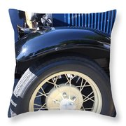 Classic Antique Car- Roaring Twenties - Detail Throw Pillow