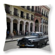 Classic Automobiles Throw Pillow