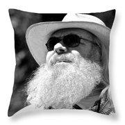Classic Beard Throw Pillow