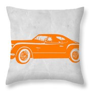 Classic Car 2 Throw Pillow by Naxart Studio