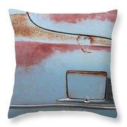 Classic Car Rust 6 Throw Pillow