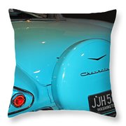 Classic Chevorlet Throw Pillow