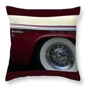 Classic Chrysler New Yorker Throw Pillow