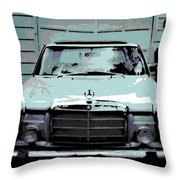 Classic Coupe Throw Pillow