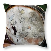 Classic Drums Throw Pillow