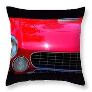 Classic Ferrari Throw Pillow