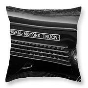 Classic Gmc Throw Pillow