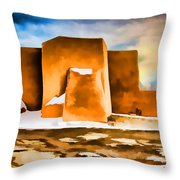 Classic In Abstract Throw Pillow