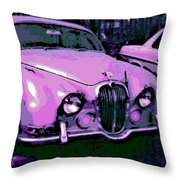 Classic In Pink Throw Pillow
