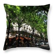 Classic Paris 3 Throw Pillow