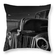 Classic Rust Throw Pillow