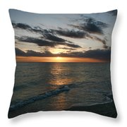 Classic Sunset Throw Pillow