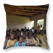 Classmates Throw Pillow