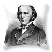 Claude Bernard, French Physiologist Throw Pillow