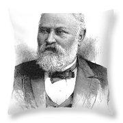 Claus Spreckels (1828-1908) Throw Pillow