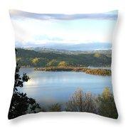 Clear Lake California 2 Throw Pillow