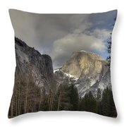 Clearing At Half Dome Throw Pillow