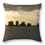 Clearwater Sky Throw Pillow