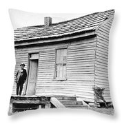 Clemens: Birthplace Throw Pillow