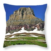 Clements Mountain Throw Pillow