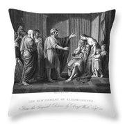 Cleombrotus II Throw Pillow