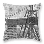 Cleopatras Needle, 1880 Throw Pillow