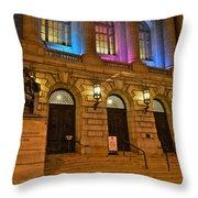 Cleveland Court House Throw Pillow