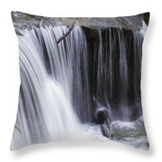 Cliff Falls Throw Pillow