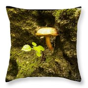 Cliff Hanger Throw Pillow