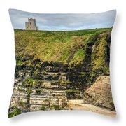 cliffs of Moher 40 Throw Pillow