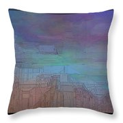 Climate Differential Throw Pillow