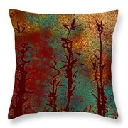 Climbing Unknown Horizons Throw Pillow
