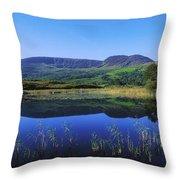 Clonee Loughs Co Kerry, Ireland Lake Throw Pillow