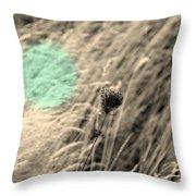 Close Up Breeze Throw Pillow