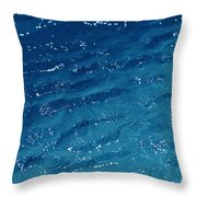 Close View Of The Ocean Shows Throw Pillow