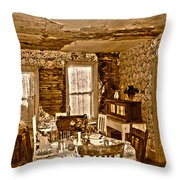 Closed For Renovations Throw Pillow
