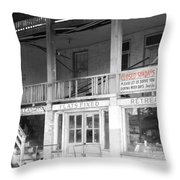 Closed Sundays Throw Pillow