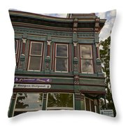 Closed This Evening Throw Pillow
