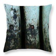 Closeup Prince Edward Island Throw Pillow