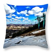 Closing Day Throw Pillow