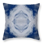 Cloud Abstract Throw Pillow