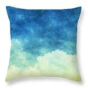 Cloud And Sky Throw Pillow by Setsiri Silapasuwanchai