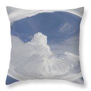 Cloud Art Throw Pillow